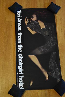 """Tori Amos """"From the Choirgirl Hotel"""" 1998 Original Promotional Poster 12.5 x 26"""