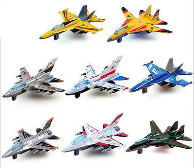 Lifelike Moveable Fighter Aircraft War Plane Model Toy