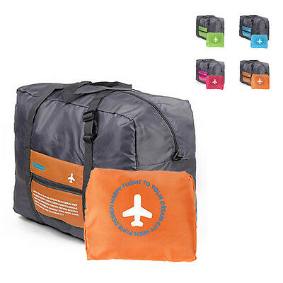 Foldable Luggage Bag Travel Big Size Clothes Storage Carry-On Duffle Bag