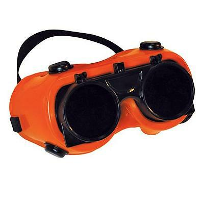 Welding Goggles Round Lens Welders Safety Glasses Glass/Plasma Eye Protection