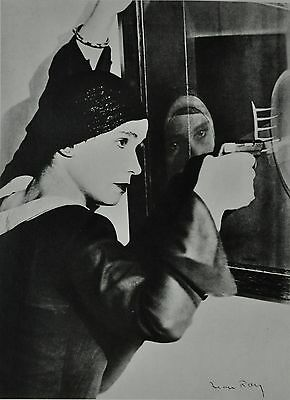 Man Ray Limited Edition Photo Heliogravure 30x40 Untitled 1926-1927 Portrait B&W