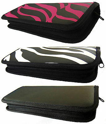 Professional Hairdressing Hair Cutting Case Barber Salon Two Scissors Pouch