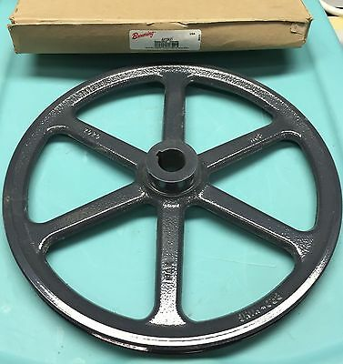 "Browning Ak124X1  Sheave / Pulley 1 Groove 1"" Bore Cast Iron New In Box"