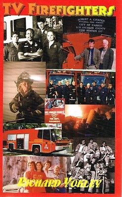 Tv Firefighters - The History Of Firefighters On Television - Richard Yokley -Vg