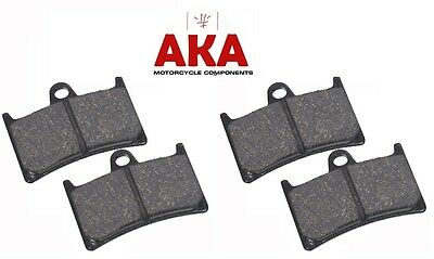 Two Sets of Front Brake Pads for - Yamaha FZS600 Fazer 1998-03
