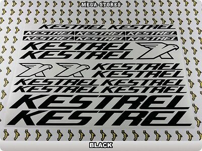"KESTREL Stickers Decals Bicycles Bikes BMX MTB Cycles /""DIFFERENT COLORS/"" 61U"