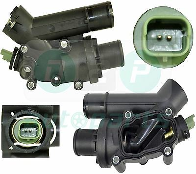 THERMOSTAT WITH HOUSING + SENSOR FOR FIAT ULYSSE LANCIA PHEDRA 2.2 D Multijet