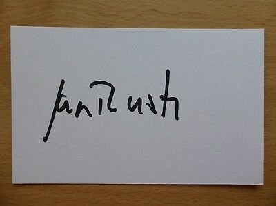 Hand Signed Football Index Cards *****R***** Page 3