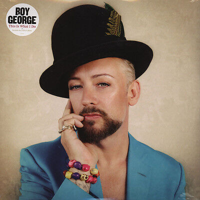 Boy George - This Is What I Do Vinyl UK 2LP+CD