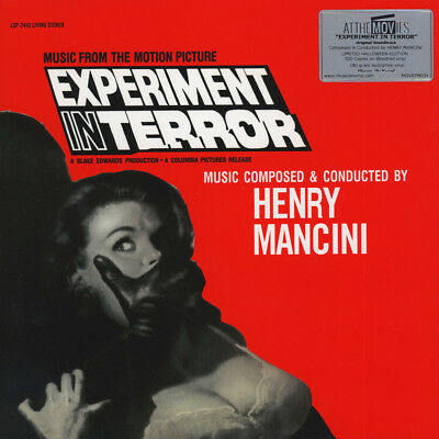Henry Mancini - OST Experiment In Terror Blood Red  (LP - 1962 - EU - Reissue)