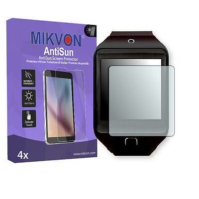 4x Mikvon AntiSun Screen Protector for Samsung Gear 2 Neo Retail Package