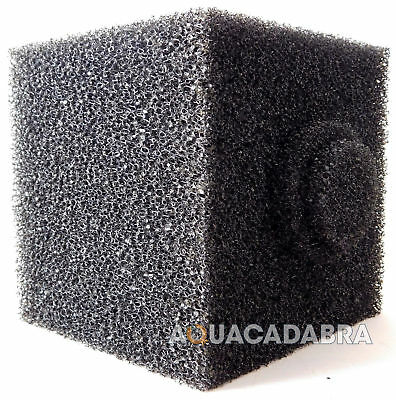 "Fish Pond Fish Filter 8"" Cube Foam Centre Hole Pre-Filter Sponge Block 8 Inch • EUR 10,38"