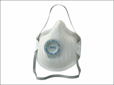 Moldex MOL255555 Classic Series FFP3 NR D Valved Mask - Pack of 5