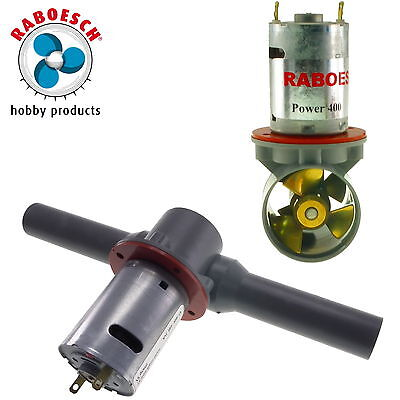 Range of Raboesch Bow Thrusters for RC Model Boats
