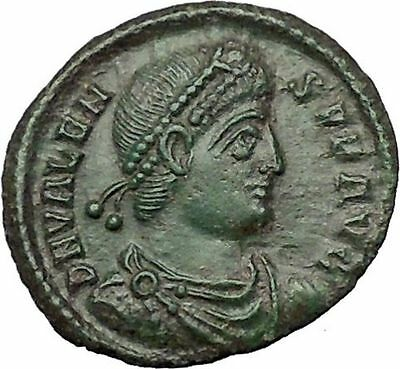 "VALENS ""Last True Roman"" 364AD Ancient Roman Coin Victory Cult  Angel  i54453"