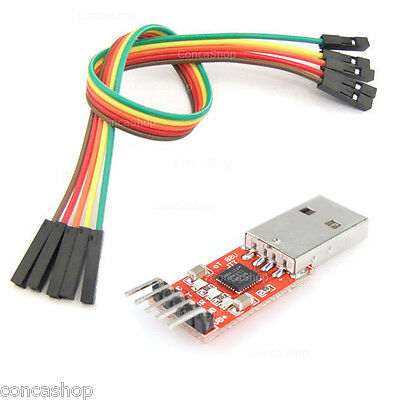 """USB to RS232 TTL USB UART CP2102 """"WIN10"""" - FIRMWARE SATELITE - ROUTER - HD - ETC"""