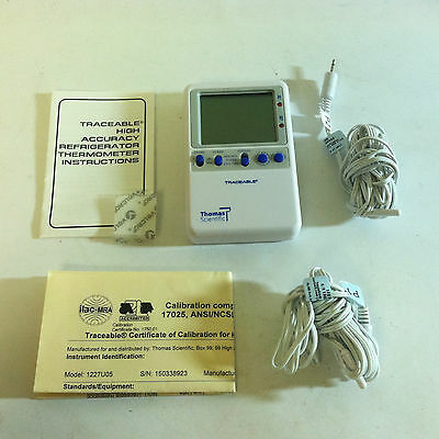 Thomas Traceable Hi-Accuracy Thermometer 1227U05