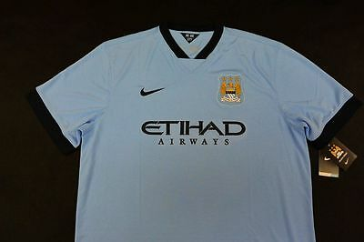 Nike Manchester City Home Shirt 2014- 2015 SIZE 2XL XXL (adults)