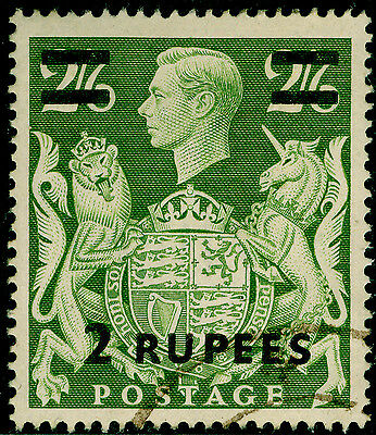 Sg24, 2r on 2s 6d yellow-green, FINE used, CDS. Cat £50.