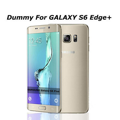 Gold Non Working Dummy Phone Display Model For Samsung Galaxy S6 Plus Edge+