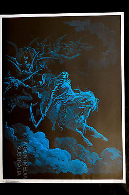 DEATH RIDES A PALE HORSE - BLACKLIGHT POSTER (75x57cm)  NEW LICENSED ART