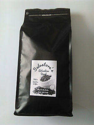 1kg Decaf Coffee Beans Whole, Swiss Water ® Process, 100% Arabica, Italian Style