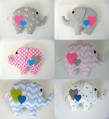 Gorgeous handmade elephant pillow,baby gift,handmade,kids room, girl,boy,DIY