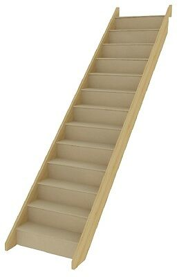 StairBox - Straight Staircase, fully assembled