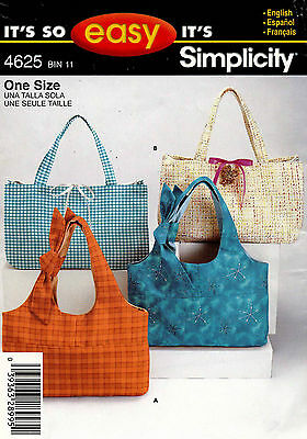 Simplicity  Bags Pattern 4625