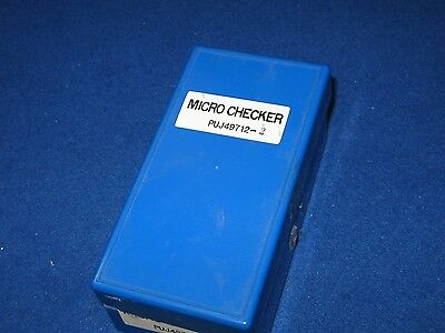 JVC Micro Checker PUJ49712-2 Micrometer Original Jeweled .001mm