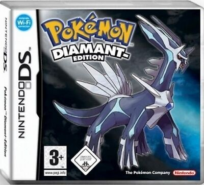NINTENDO DS 3DS POKEMON DIAMANT EDITION * DEUTSCH * Neuwertig