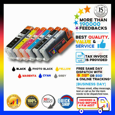 30x Ink Cartridge CLI651 PGI650 With Grey for Canon Pixma MG-7160 MG-7260