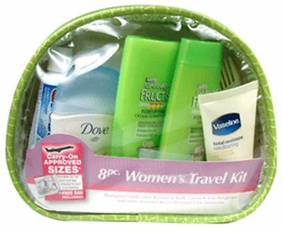 Garnier Fructis Travel Kit for Women (8 piece) 1 ea (Pack of 8)