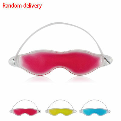 Cool Gel Eye Mask Cold Pack Warm Heat Ice Sleeping Tired Mask