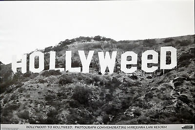 HOLLYWOOD TO HOLLYWEED - MARIJUANA POSTER (61x91cm)  NEW LICENSED ART