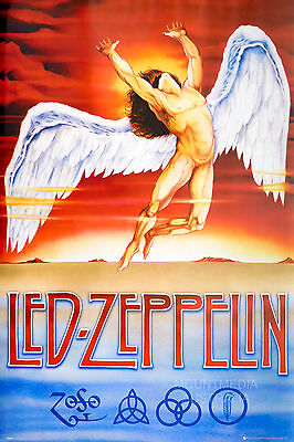 LED ZEPPELIN - SWAN SONG POSTER (91x61cm)  NEW LICENSED ART