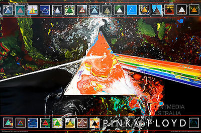 Pink Floyd - Dark Side 40Th Anniversary Poster (61X91Cm) New Licensed Art