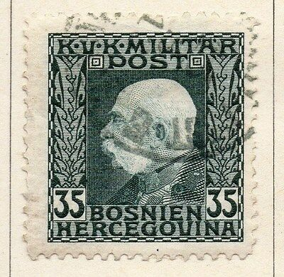 Bosnia Herzegovina 1912 F Joseph Early Issue Fine Used 35h. 045093