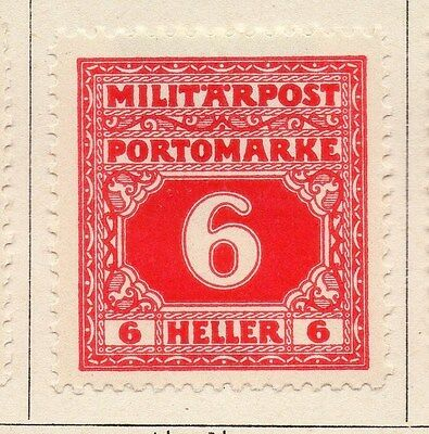 Bosnia Herzegovina 1916/18 Postage Due Early Issue Fine Mint Hinged 6h. 045070