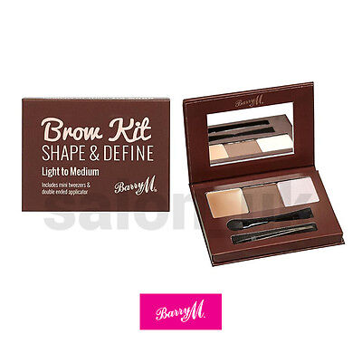 Barry M Brow Kit Light to Medium - Shape & Define Eyebrow