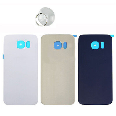 Battery Back Cover Door Housing Glass For Samsung Galaxy S6 edge/S6edge Plus New