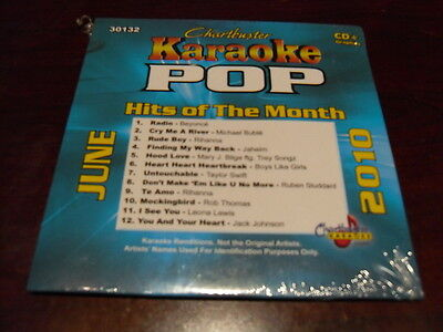 Chartbuster Karaoke Monthly Hits August 2010 Pop Karaoke Entertainment Karaoke Cdgs, Dvds & Media Urban Songs 30139m
