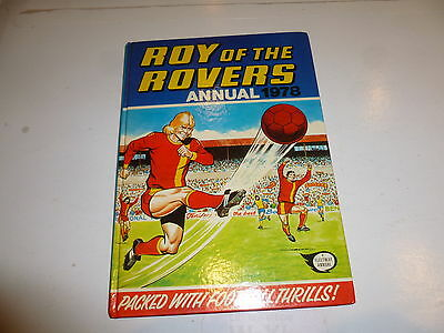 ROY OF THE ROVERS ANNUAL - Year 1978 - UK Annual ( Price Tab Intact )