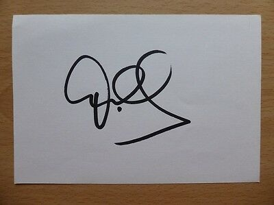 Hand Signed Football Index Cards *****S***** Page 1