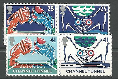 1994 Channel Tunnel Set Unmounted Mint