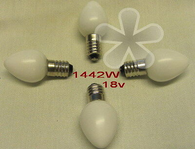 Lionel Bulb, # 1442WH for Streetlights, Stations, etc. (4)