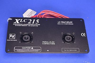 Electro-Voice EV XLC215 Subwoofer Line Array Input Panel