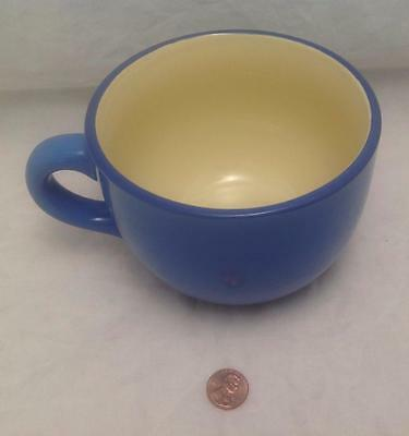 Soup/Coffee/Latte, Very Large Mug/Cup, one handle, Blue, Gibson, 3-cup