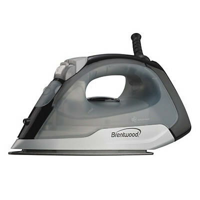 New Brentwood Appliances Steam Dry Spray Clothes Iron Black