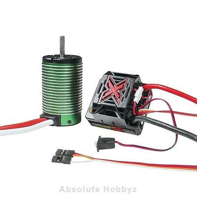 Castle Creations Mamba Monster X WP ESC/2200kV Motor - CSE010-0145-01